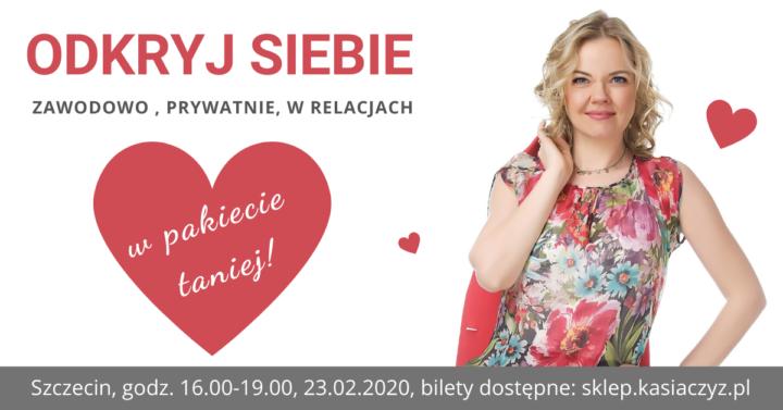 Odkryj siebie- 2 bilety w promocyjnej cenie! Szczecin